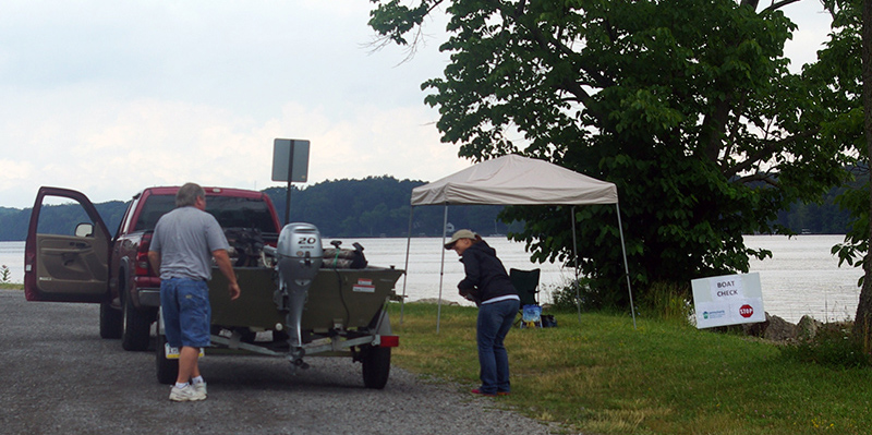 Pymatuning Invasive Species Boat Inspection Stations